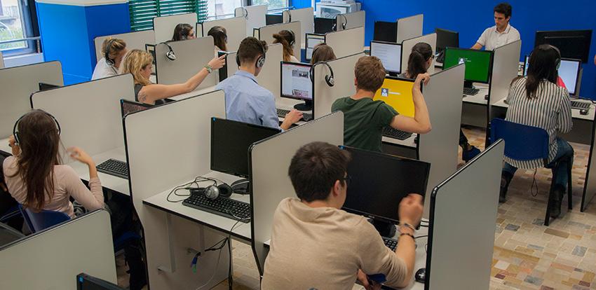 L'aula d'informatica - lezioni di computer