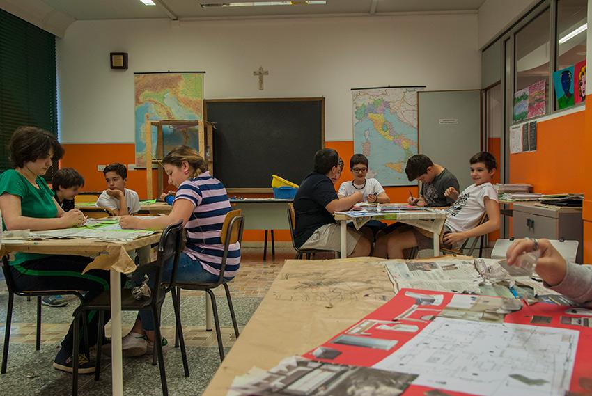 Aula scuola secondaria di primo grado (scuola media)