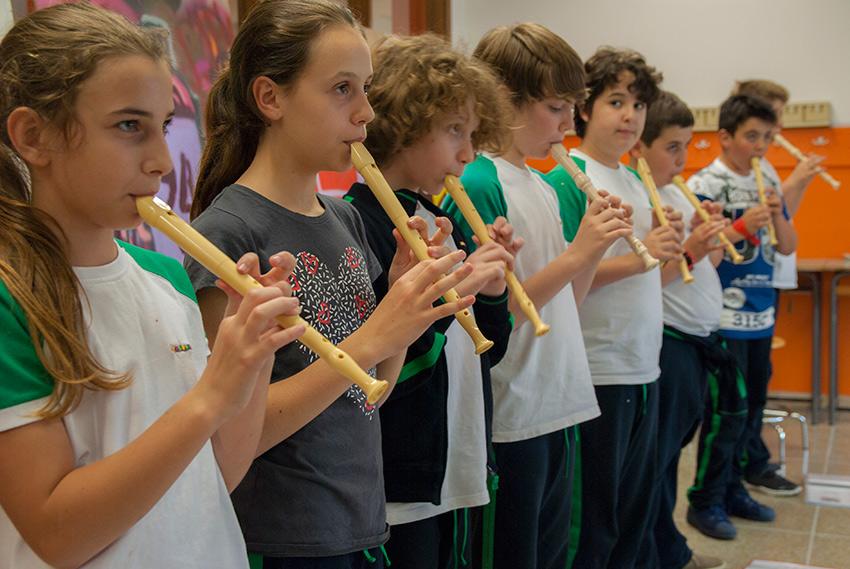 Lezioni di flauto