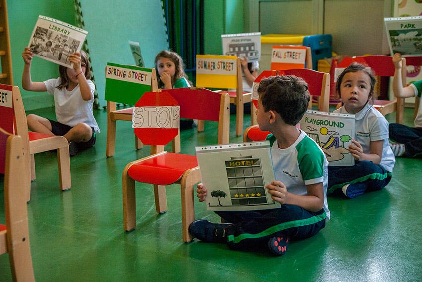 Lezioni e giochi interattivi interamente in lingua inglese