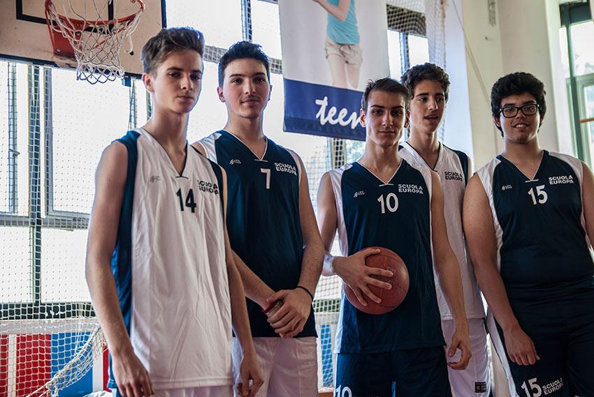 Team Europa - la squadra di basket del liceo