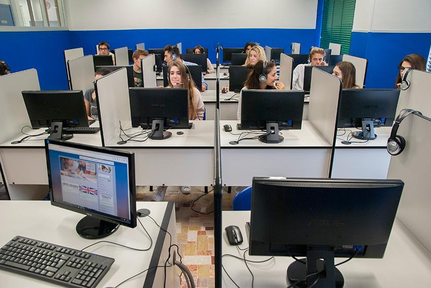 Il laboratorio d'informatica