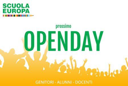 Prossimo Openday alla Scuola Europa