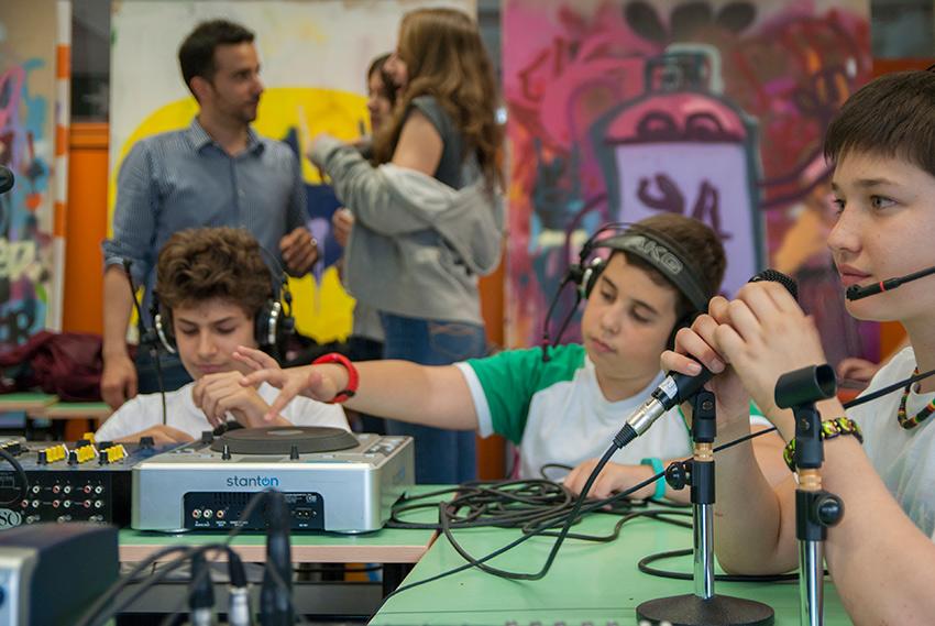 Laboratorio di Radiofonia - Scuola Europa, Milano