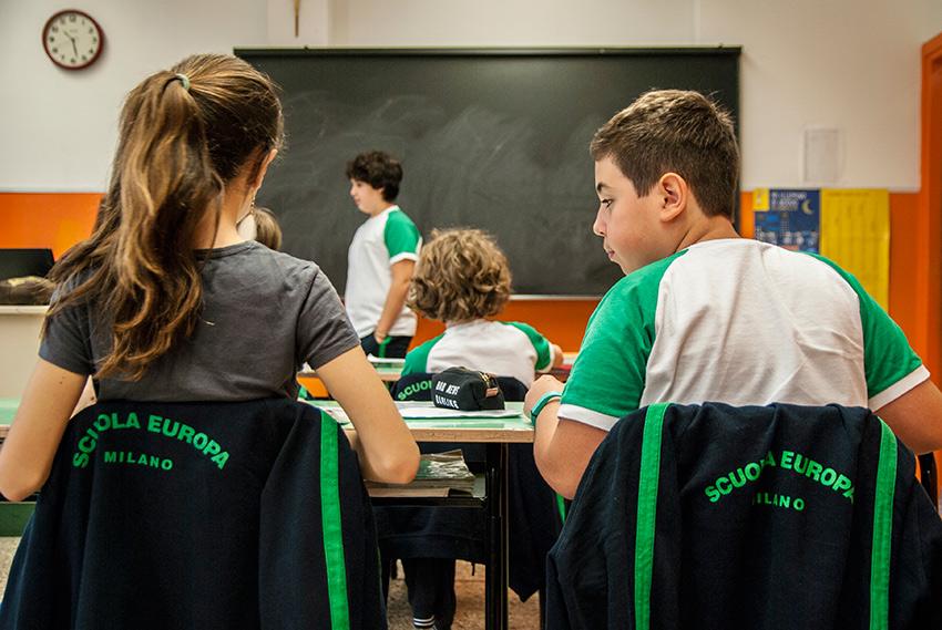 Studenti della scuola secondaria di primo grado