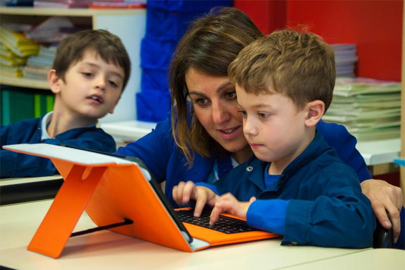 PRIMARIA - informativa e coding su tablet!
