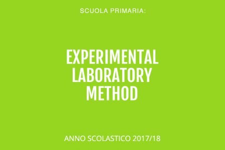 Experimental Laboratory Method (ELM) A.S. 2017-18