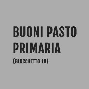 Buoni Pasto Scuola Primaria, Milano